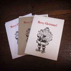 Merry Christmas Cards - Santa Claus