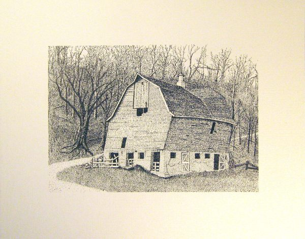 Tin Can Valley Barn Print