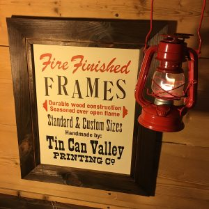 Tin Can Valley Fire Finished Frames
