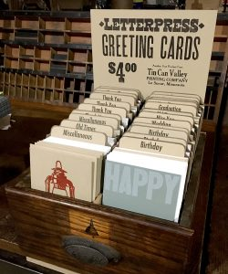 Tin Can Valley Greeting Card POS Display Box