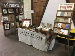 Tin Can Valley Indoor Vendor Display